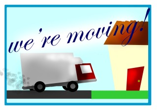 Were Moving Graphic